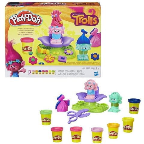 """Hasbro Play-Doh B9027 Игровой набор """"Тролли"""""""