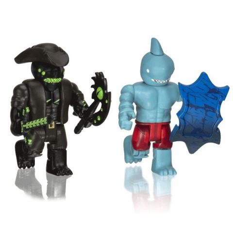 Roblox ROB0305 Фигурки героев A Pirate's Tale: Shark People 2 шт. с аксессуарами