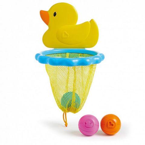 "MUNCHKIN 12412 NEW Игрушки для ванны ""Баскетбол Утка"" 12м+"