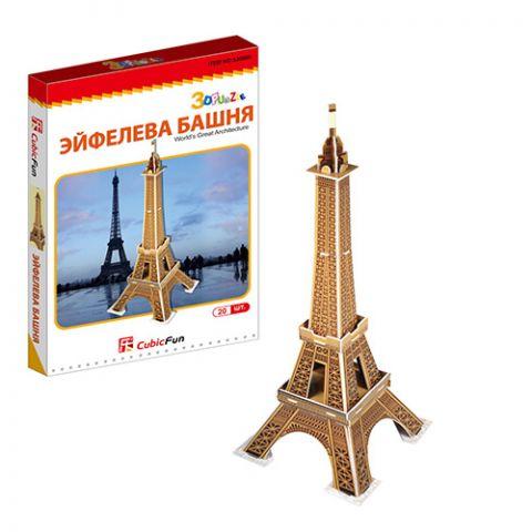 Cubic Fun S3006 Кубик фан Эйфелева башня (Франция) (мини серия)