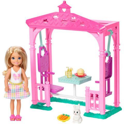 "Mattel Barbie FDB34 Барби ""Челси и набор мебели"""