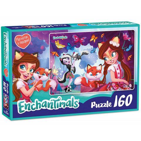 Enchantimals AST188873 Пазл Фелисити и Сейдж 160 элементов