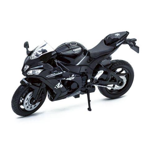 Welly 12845P Велли модель мотоцикла Kawasaki Ninja ZX-10RR