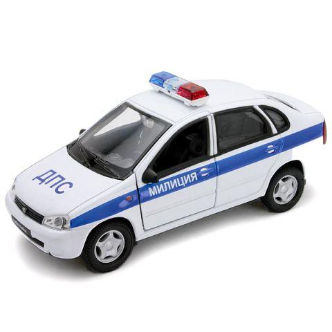 Welly 42383PB Велли Модель машины 1:34-39 LADA Kalina МИЛИЦИЯ ДПС