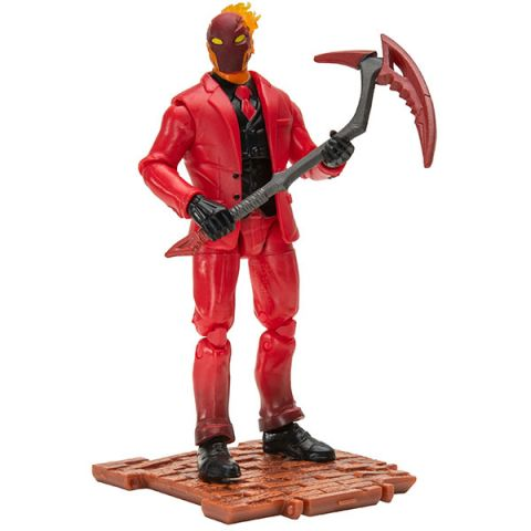 Fortnite FNT0259 Фигурка героя Inferno с аксессуарами (SM)
