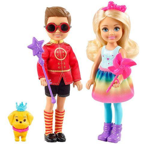 Mattel Barbie FRB14 Барби Челси и Нотто