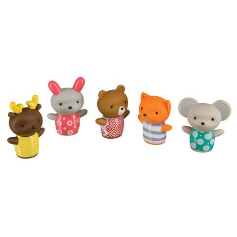 "Happy Baby 32024 Набор игрушек на пальцы ""LITTLE FRIENDS"""