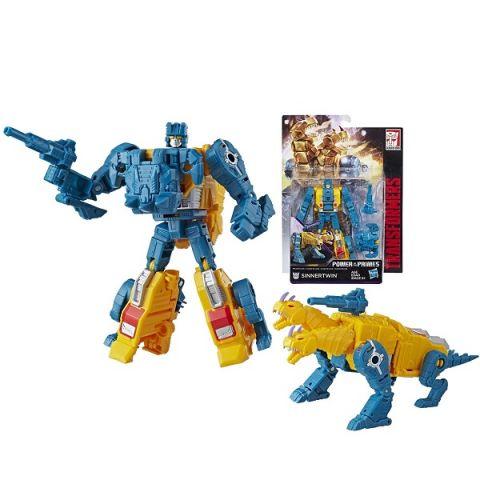 """Hasbro Transformers E0595/E1133 Трансформеры ДЖЕНЕРЕЙШНЗ ДЕЛЮКС """"Синнертвин"""""""