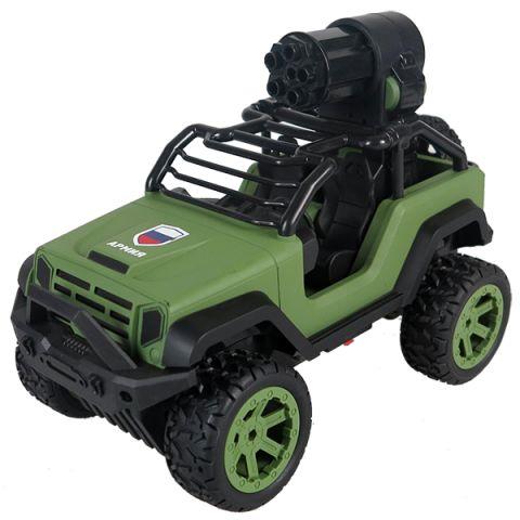 Wincars YK-2021 Джип военный Р/У с солдатиками,стреляет снарядами,USB-зарядка