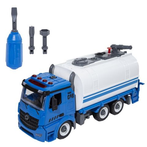 Wincars YK-2223 Чистый город Разборная инерционная машина с цистерной и водомётом, звук, свет