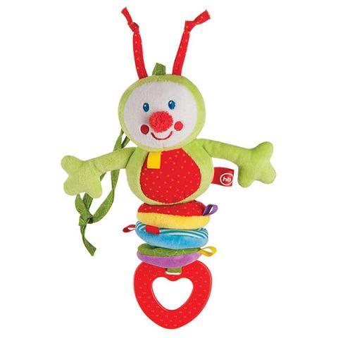 """Happy Baby 330344 Подвесная игрушка-растяжка """"Гусеница"""""""