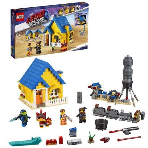 LEGO Movie 2 70831 Конструктор ЛЕГО Фильм 2 Дом мечты: Спасательная ракета Эммета!