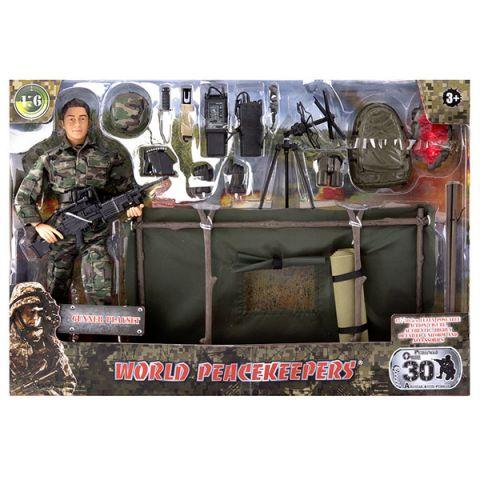 """World Peacekeepers MC90402 Игровой набор """"Артиллерист"""" 1:6"""