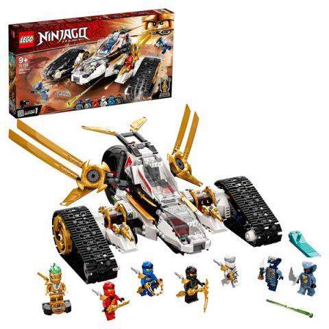 LEGO Ninjago 71739 Конструктор ЛЕГО Ниндзяго Сверхзвуковой самолёт