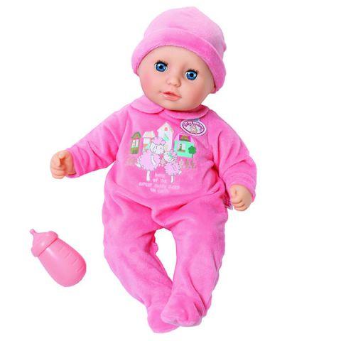 Zapf Creation Baby Annabell 702-550 Бэби Аннабель Кукла с бутылочкой, 36 см, дисплей
