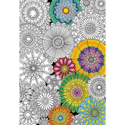 """Educa 17090 Пазл-раскраска 300 деталей """"Цветы"""""""