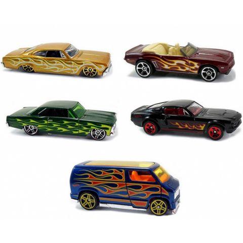 Mattel Hot Wheels 1806 Хот Вилс Подарочный набор из пяти машинок (в ассортименте)