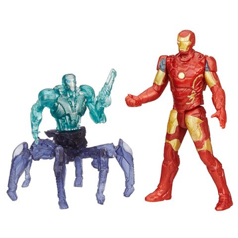 Hasbro Avengers B0423 Набор из двух мини-фигурок Мстителей, 6 см (в ассортименте)