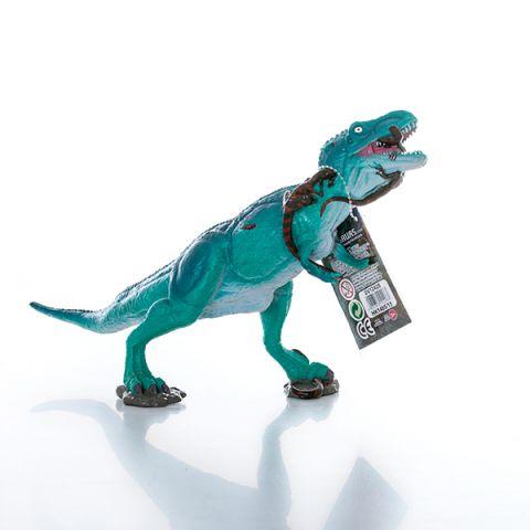 HGL SV12428 Игрушка фигурка Тираннозавр сражается с Велоцирапторами