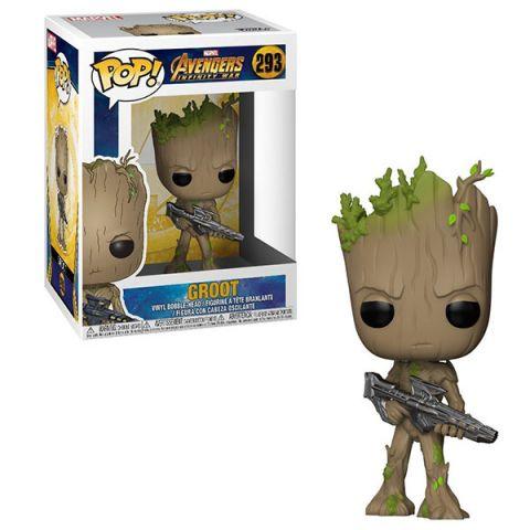 Funko POP 26904F Bobble: Marvel: Avengers Infinity War: Groot 26904