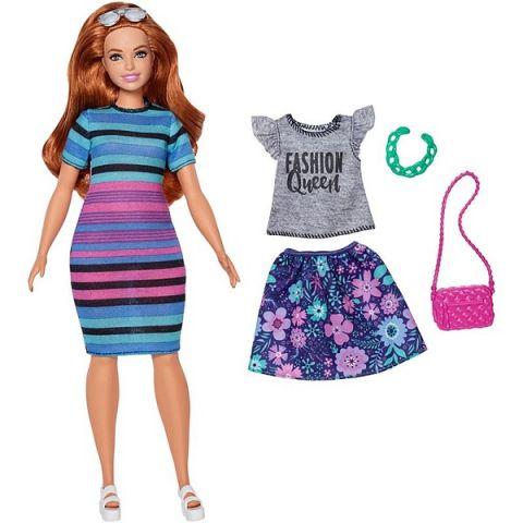 Mattel Barbie FJF69 Барби Игра с модой Куклы & набор одежды