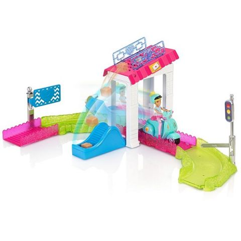 """Mattel Barbie FHV85 Барби Кукла """"В движении"""" Игровой набор """"Почта"""""""