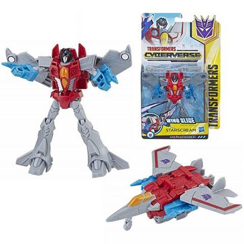 Hasbro Transformers E1884/E1902 Трансформер КИБЕРВСЕЛЕННАЯ 14 см Старскрим