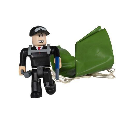 Roblox ROB0330 Фигурка героя Jailbreak: Secret Agent с аксессуарами