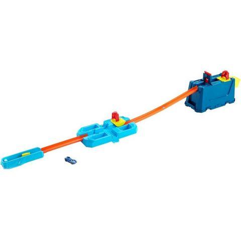 Mattel Hot Wheels GVG09 Монстр трак Конструктор Трасс Игровой ящик Разрушительные трюки