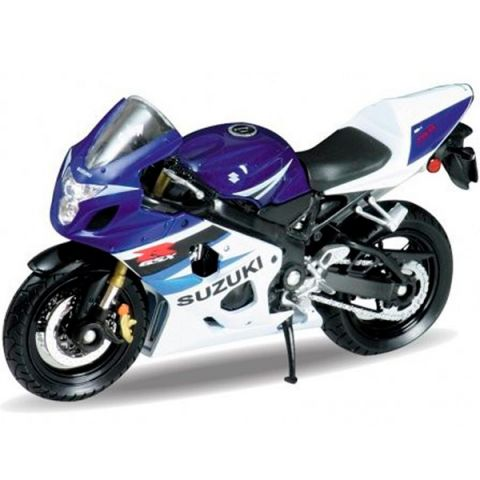 Welly 12803P Велли Модель мотоцикла 1:18 MOTORCYCLE / SUZUKI GSX-R750