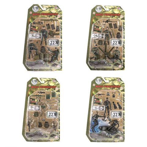 "World Peacekeepers MC77003 Игровой набор ""Отряд"" 3 фигурки, 1:18 (в ассортименте)"