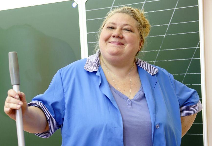 Уборщица тётя Валя