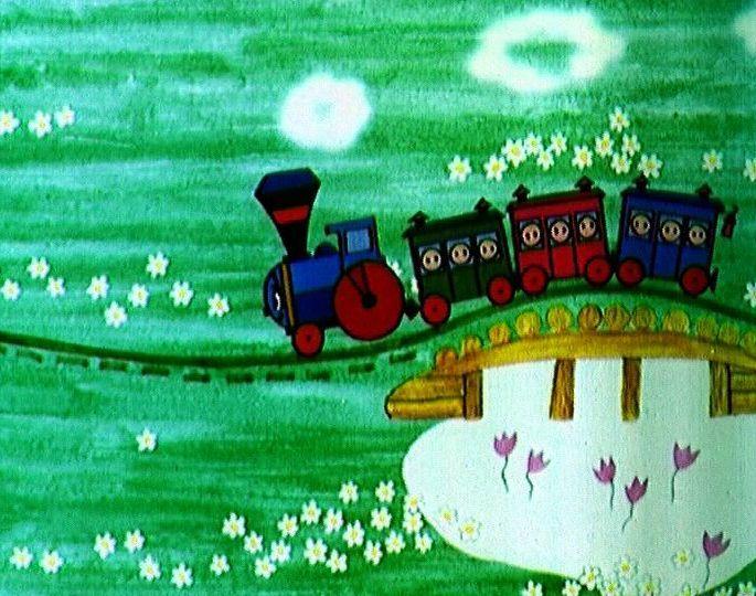 томатов паровозик из ромашкового картинка вид