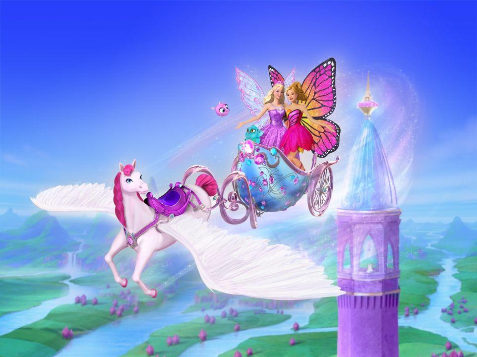 Мультик «Барби: Марипоса и Принцесса фея» – детские ...