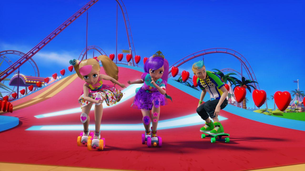 Барби в виртуальном мире картинки
