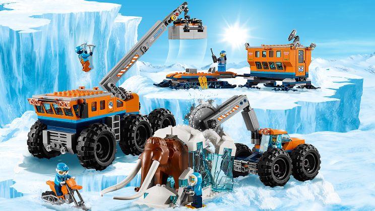 60195 Мобильная база полярных исследователей