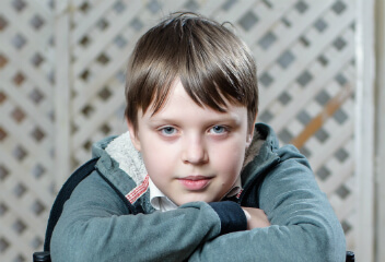 Аркадий Кашуба, 11 лет