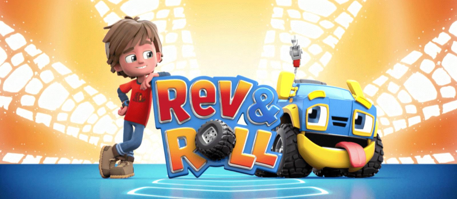 Rev&Roll EU881110 Мини машинка - Рамбл